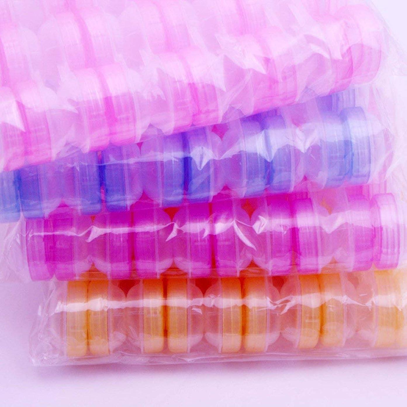 リットル見分ける希少性Intercorey 10ピース透明コンタクトレンズケースダブルボックス透明美容メイトボックス美容ケアボックス見えないボックス