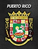 Puerto Rico: Coat of Arms | 2020 Weekly Calendar | 12 Months | 107 pages 8.5 x 11 in. | Planner | Diary | Organizer | Agenda | Appointment | Half Spread Wide Ruled Pages