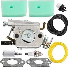 Anzac C1Q-EL24 Carburetor & Fuel Line & Fuel Filter for Husqvarna Trimmer 123 223 323 325 326 327 123L 223L 323L 325L 326L 327L 503283401 588171156