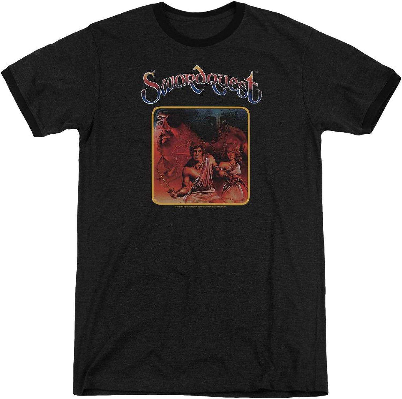 Atari  Mens Swordquest Ringer TShirt