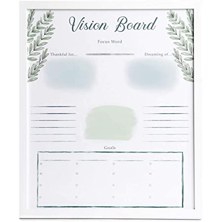 Goal Setting Vision Board Sign Family Goals Board Vision Board Party Goal Planner Dream Board Vision Board Laser Cut Signs