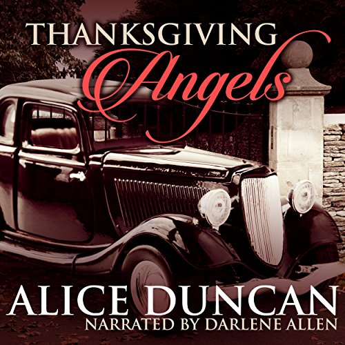 Thanksgiving Angels audiobook cover art