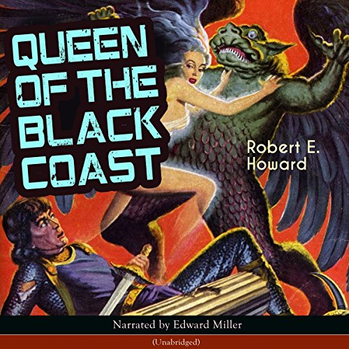 Queen of the Black Coast audiobook cover art