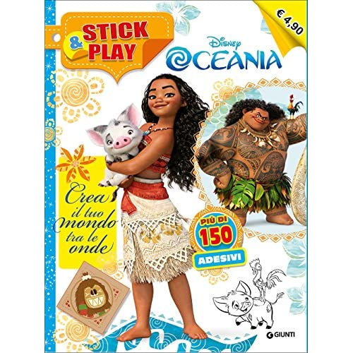 Oceania. Crea il tuo mondo tra le onde. Stick & play. Con Adesivi