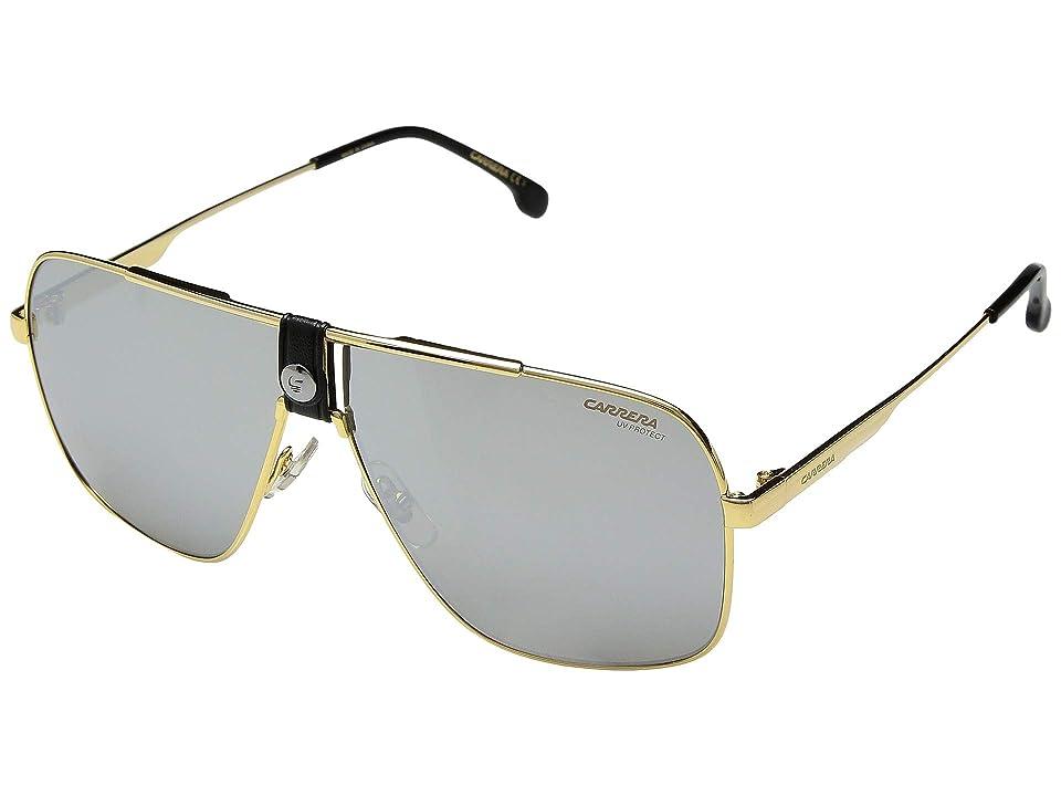 Carrera Carrera 1018/S (Gold/Black) Fashion Sunglasses