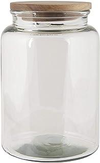 color gris IB Laursen 2918-00 mimbre, 23 x 18 x 18 cm Cesta con 4 compartimentos y asa para cubiertos
