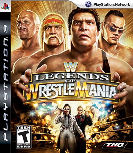 WWE Legends of Wrestlemania (Sony PS3) [Import UK]