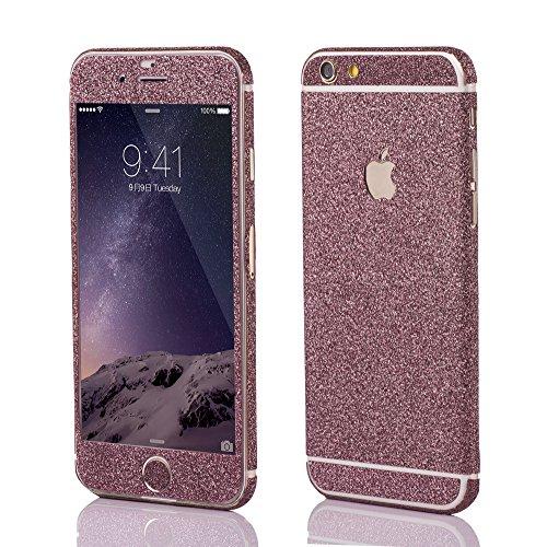OKCS Sticker Skin für Apple iPhone 6, 6s Folie Slim Schutzfolie Film - Cutie Pink