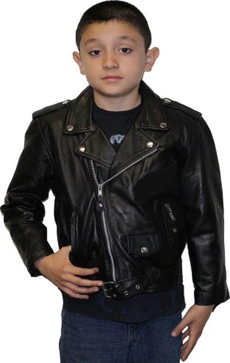 Kids Leather Jackets Motorcycle Jacket Cool Baby Boys Sport Biker Coats Outwear