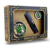 HEY JOE - Pomade Survival Kit MATT | Kit pomada MATE contiene la pomada 100 ml, 15 ml. y nuestro peine de bolsillo hecho a mano