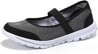[Bornran] ナースシューズ レディース ウォーキングシューズ ランニングシューズ オシャレ 歩きやすい 疲れにくい 長時間立ち仕事 軽量 カジュアル 介護士 婦人靴 通気性 柔軟性
