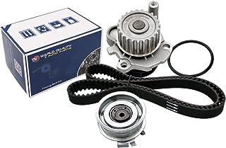 Timing Belt Water Pump fits for 1998 1999 2001 2002 2003 2004 2005 VW Volkswagen Beetle Golf Jetta 2.0L SOHC Eng. AEG, AZG, BEV, AVH