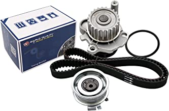 Timing Belt Water Pump fits for 1998 1999 2001 2002 2003 2004 2005 VW Volkswagen Beetle Golf Jetta 2.0L SOHC Eng. AEG, AZG, BEV, AVH