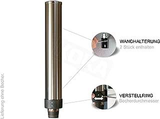 7.5cm Tassenhalter Anti Dust Becherspender Getr/änkehalter Wasserbecherspender f/ür 50 Tassen f/ür Zuhause B/üro und Empfangsszene lyrlody Tassenspender