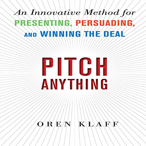 Pitch Anything audiobook cover art