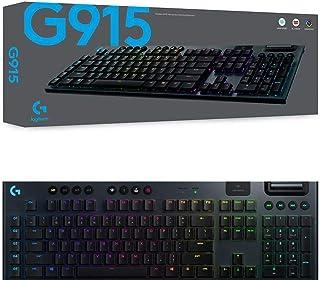 Logitech 920-009227 G915 Lightspeed Wireless RGB Mechanical Gaming Keyboard - GL Linear