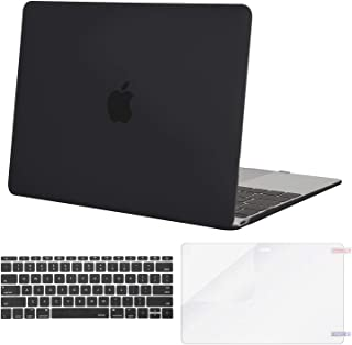 MOSISO Plastic Hard Shell Case & Keyboard Cover & Screen Protector Compatible MacBook 12 Inch Retina Display A1534 (Newest...