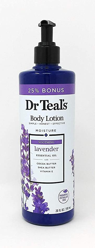 アーティスト曲線申し立てられた[(ティールズ) Dr Teal`s] [ ボディローション Body Lotion 20oz 591ml ] (並行輸入品)