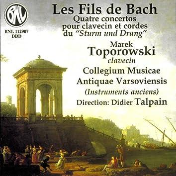 C.P.E. Bach, J.C. Bach & W..F. Bach: Quatre concertos pour clavecin et cordes (Sturm und Drang)