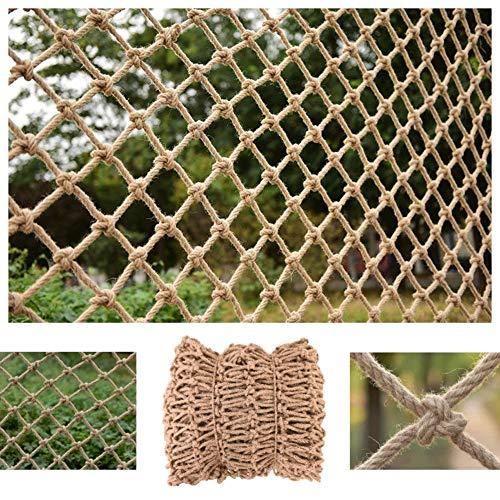 STTHOME Rete di Protettiva Rete Sicurezza Balcone Corda Reti for Recinzione Divisoria Reti in Juta for Vari Campi da Calcio Decorazione del Vento Industriale Multi-Funzione Multi-Size 1 * 1M