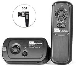 Pixel Oppilas DC0 Disipador Remoto Mando Inalámbrico para Cámaras Digitales Nikon D1, D2, D3, D3s, D4, D5, D4s, D800, D810, D700, D500, D300, D300s, D200, N90s, F5, F6, F100, F90, F90X