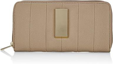Caprese Mimeen Ziparound Wallet Large Beige