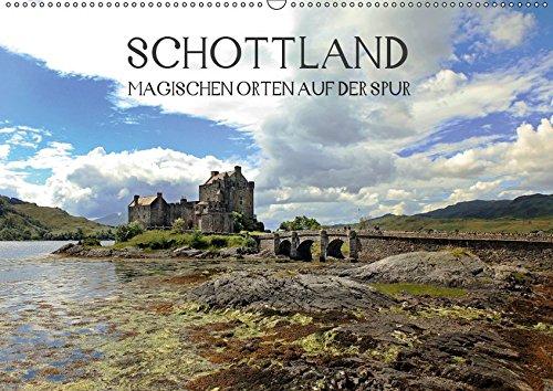 Schottland - magischen Orten auf der Spur (Wandkalender 2019 DIN A2 quer): Lassen Sie sich jeden Monat von der Magie Schottlands verzaubern. (Monatskalender, 14 Seiten )