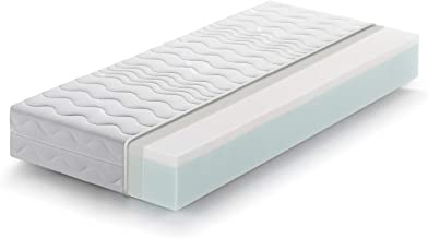 Childrens mattress 70x140 height 10 cm Marcapiuma Baby mattress in waterfoam foam foam Breathable Removable cover Anti-dust mite cot Offer Newborn 100/% Made in Italy BAMBY