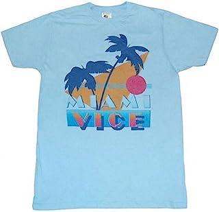 Miami Vice Vintage T-Shirt Retro Oldschool 80er Serie Vest Sleeveless