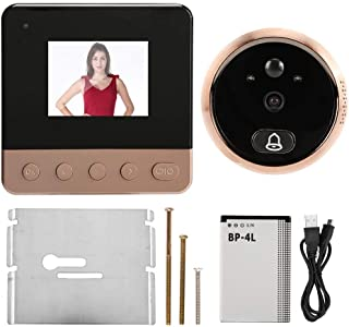 Display Screen Infrared Door Chime, Doorbell, Night Looking for Home Security System Portrait Capture