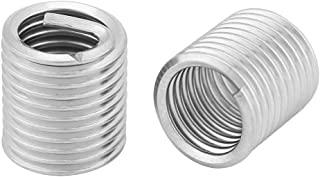 Qty-25 #10-24 x 2D Helicoil Insert 18-8 Stainless Steel Unified US Coarse 0.380