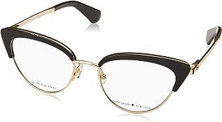 Kate Spade Jailyn 807 Black Plastic Cat-Eye Eyeglasses 50mm