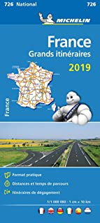 France Route Planning 2019 - Michelin National Map 726: Map (Michelin National Maps)