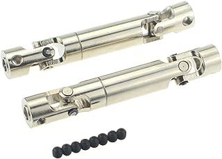 Hobbymarking RC Rock 2Pcs Universal Drive Shaft 80mm-105mm Upgrade for RC4WD Crawlers D90 SCX10 Off-Road Tamiya Car Parts