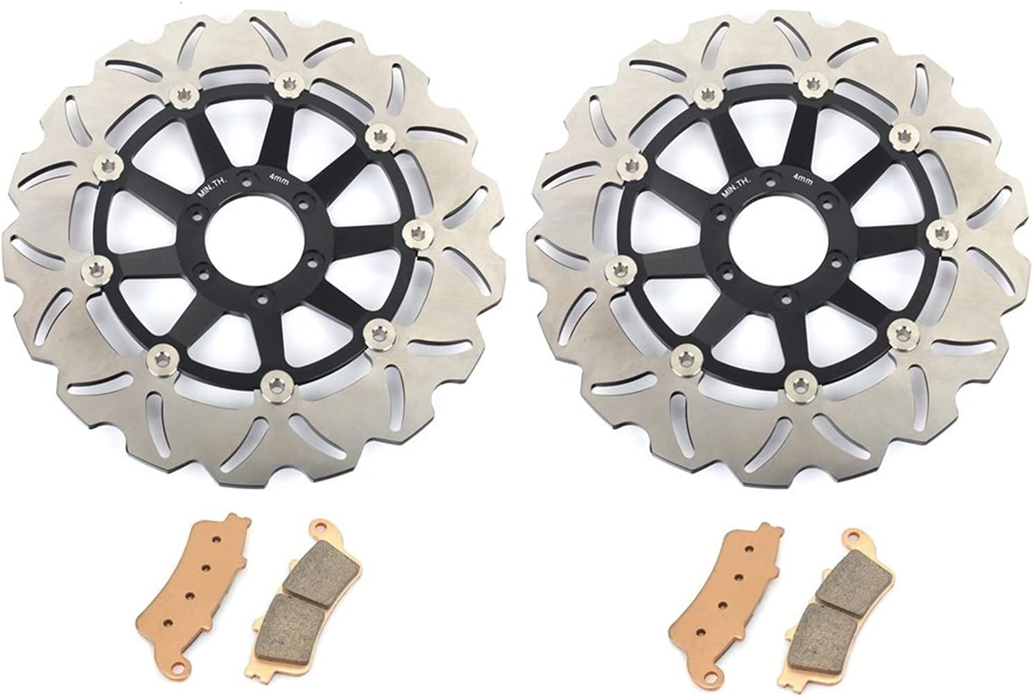 Motorcycle Brake disc Rotor Front Disks Outlet sale feature P Direct store Discs Rotors and