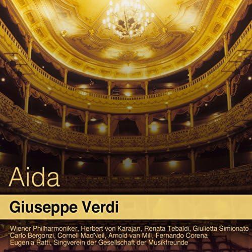 Wiener Philharmoniker, Herbert von Karajan, Renata Tebaldi