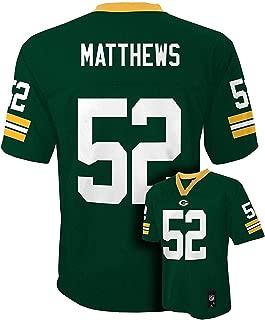 Clay Matthews Green Bay Packers Green NFL Infants 2013-14 Season Mid-tier Jersey (Infants 24 Months)