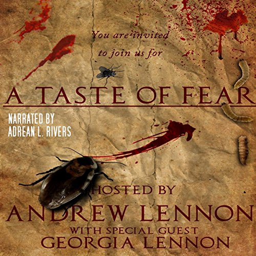 A Taste of Fear audiobook cover art