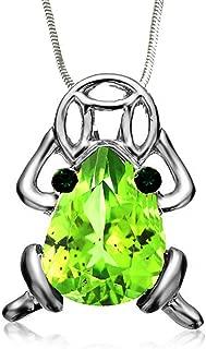 DianaL Boutique Beautiful Frog Pendant Necklace 19