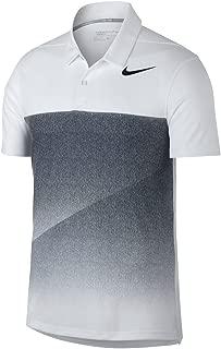 Nike Dry Fit Slim Black Fade Golf Polo 2017