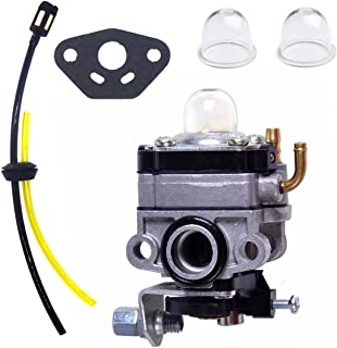 Atoparts Carburetor with Fuel Line kit For HONDA GX31 GX22 FG100 HHE31C HHT31S Edger Trimmer Brush Cutter