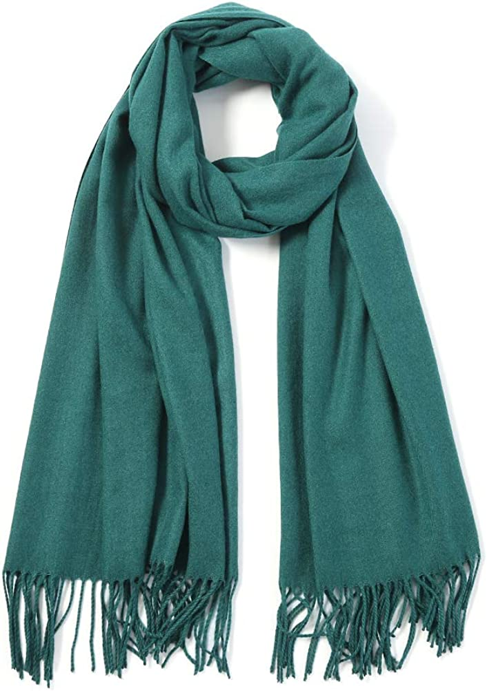 Womens Scarfs Cashmere Fashion Feel Large Lightweight Scarves Ranking TOP18 Shaw Solid