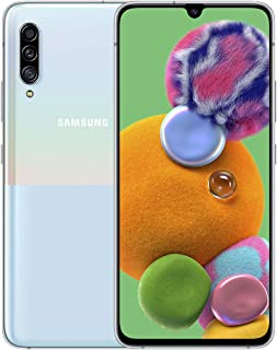 Samsung Galaxy A90 5G Mobile Phone; Sim Free Smartphone - White (UK Version)