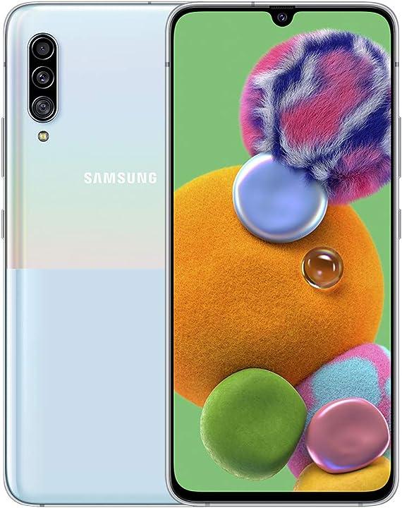Smartphone samsung galaxy a90 5g 6gb / 128gb bianco sm-a908b SM-A908BZWABTU