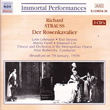 Strauss, R.: Rosenkavalier (Der) (Lehmann / Stevens) (1939)