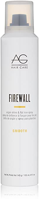 Amazon Com Ag Hair Smooth Firewall Argan Shine Flat Iron Spray 5 Oz Premium Beauty