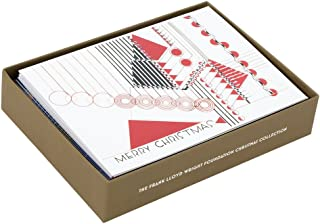 Frank Lloyd Wright Foundation Holiday Luxe Notecard Set