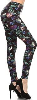 Leggings Depot Women's Ultra Soft High Waist Fashion Leggings BAT1