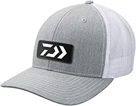 Daiwa DVEC-R-GRYWHT D-Vec Trucker with Grey and White Rubber Patch Logo