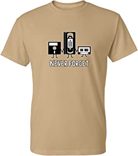 6cf404438f378 Never Forget Sarcastic Graphic Music Novelty Funny T Shirt